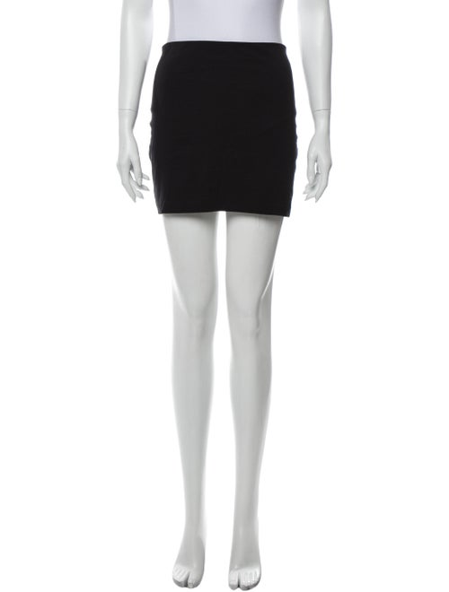 The Row Mini Skirt Black