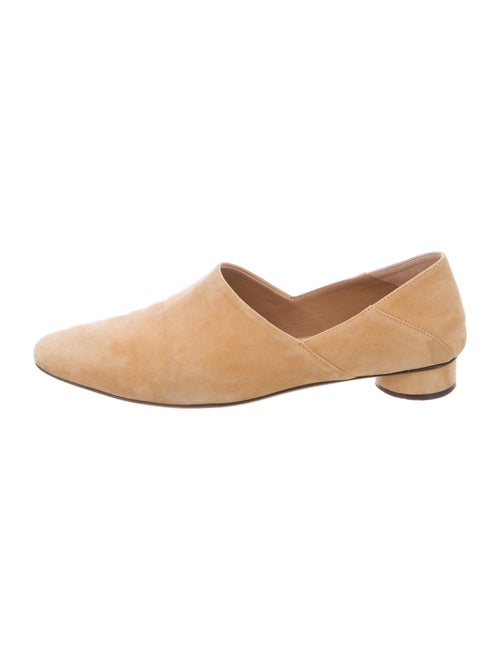 The Row Suede Flats