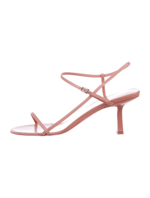 The Row Bare Leather Sandals w/ Tags Pink