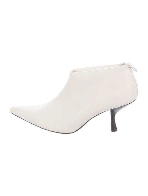 The Row Boots White