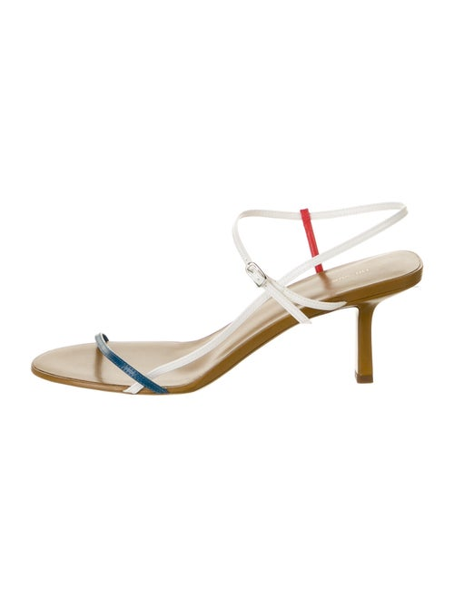 The Row Leather Sandals w/ Tags White