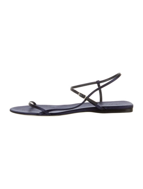 The Row Sandals Blue