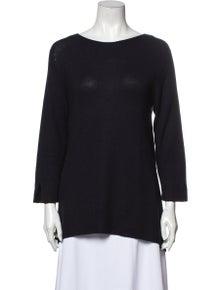 The Row Bateau Neckline Sweater