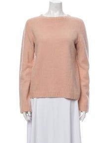 The Row Merino Wool Bateau Neckline Sweater