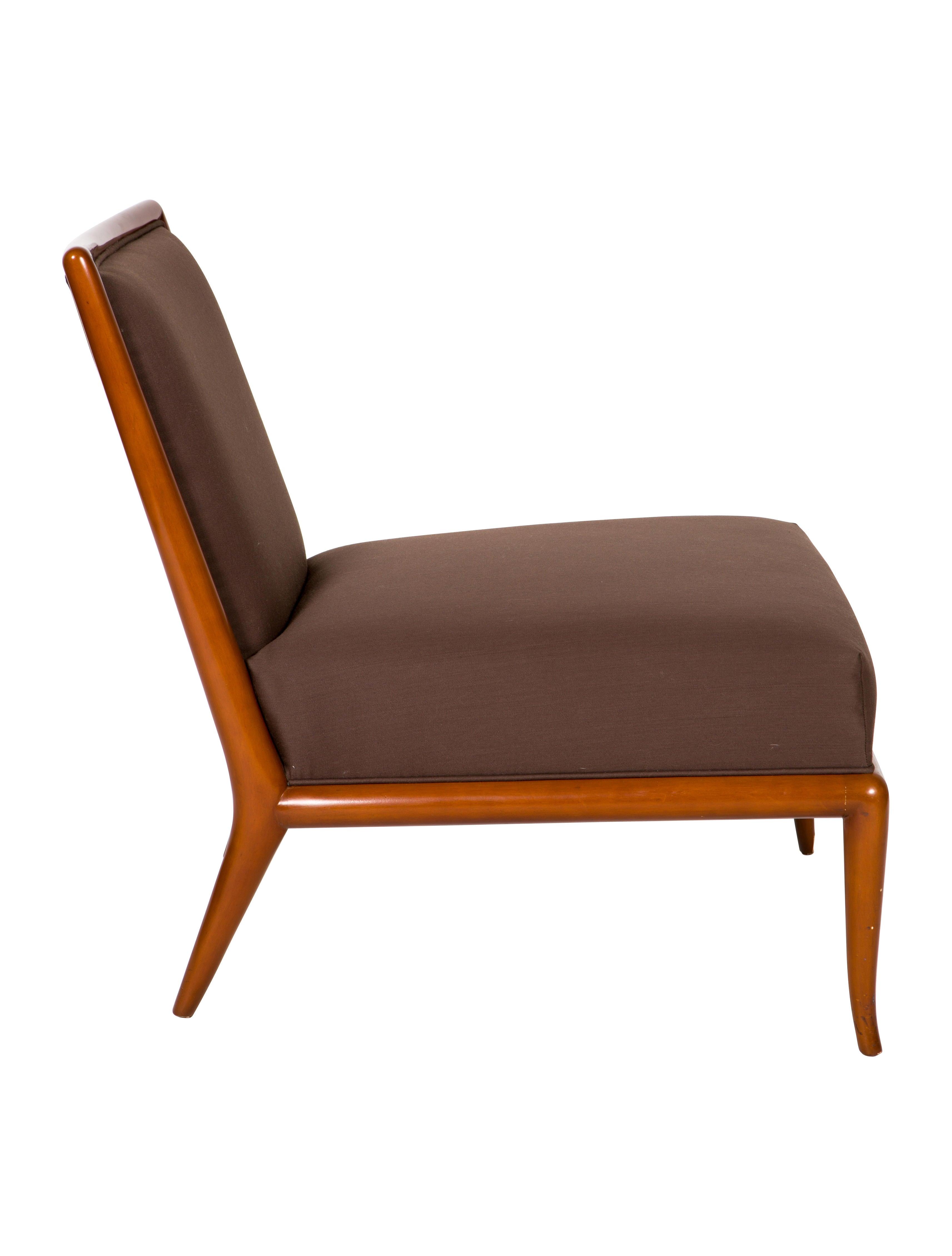 T H Robsjohn Gibbings Slipper Chairs Furniture