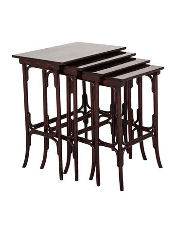 Set of 4 Nesting Tables  sc 1 st  The RealReal & Thonet Set of 4 Nesting Tables - Furniture - THT20005 | The RealReal