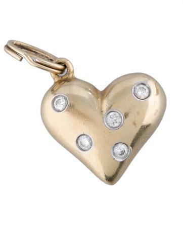 Etoile Heart Charm