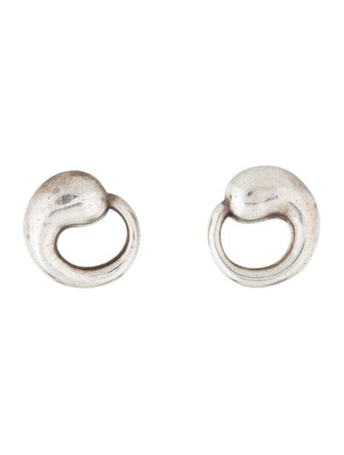 Tiffany & Co. Elsa Peretti Circle Earrings silver