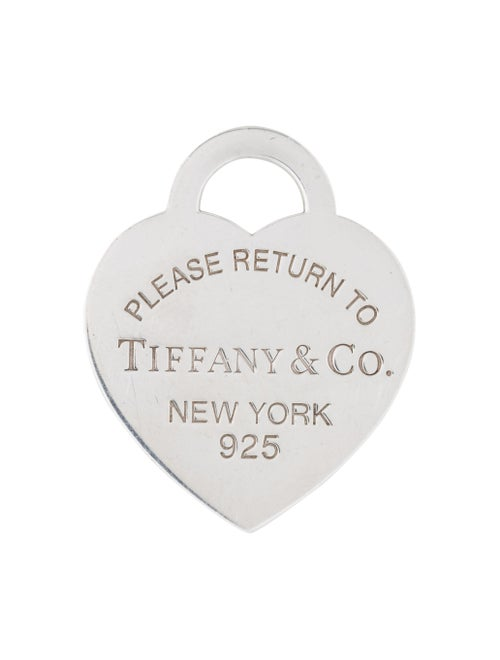 Tiffany & Co. Return To Tiffany Large Heart Tag Pe