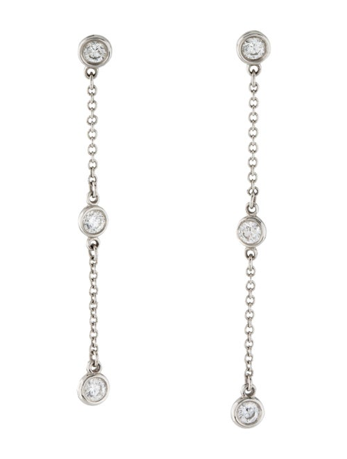 Tiffany & Co. Elsa Peretti Platinum Diamonds by th