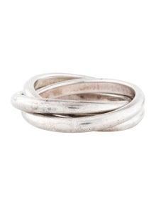 Tiffany & Co. Melody Three-Band Ring