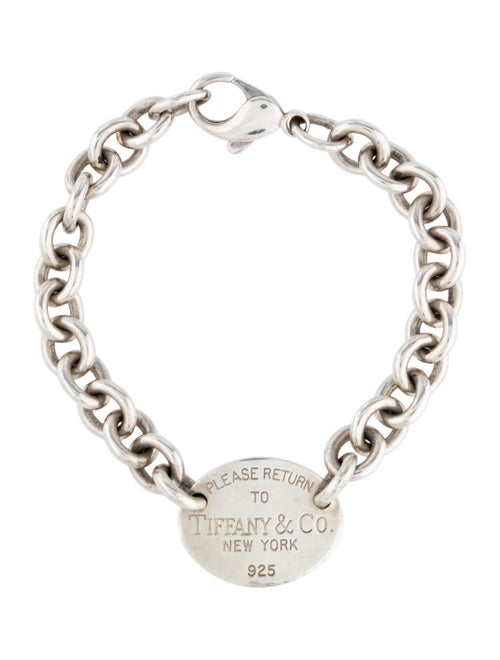Tiffany & Co. Return To Tiffany Charm Bracelet Sil