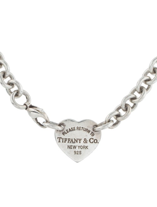 Tiffany & Co. Return to Tiffany® Heart Tag Necklac