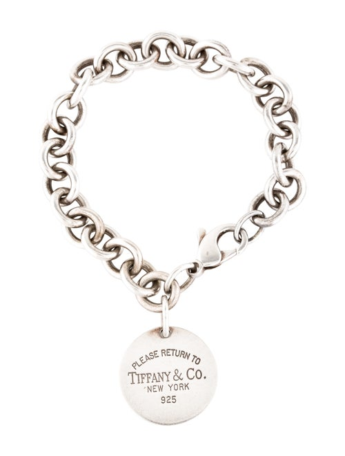 Tiffany & Co. Return to Tiffany Link Bracelet Silv