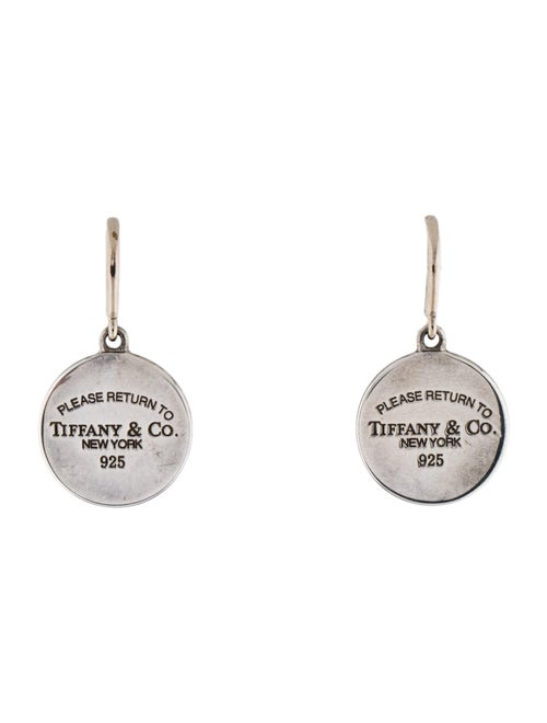 Tiffany & Co. Return to Tiffany Drop Earrings Silv