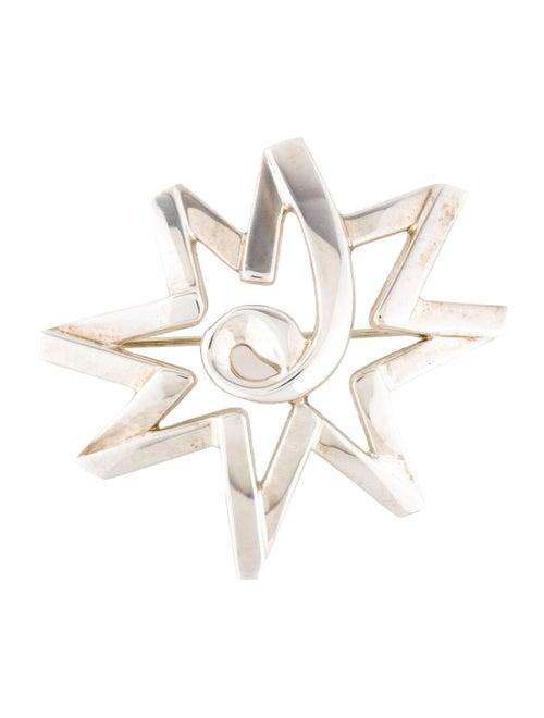 Tiffany & Co. Star Brooch Silver