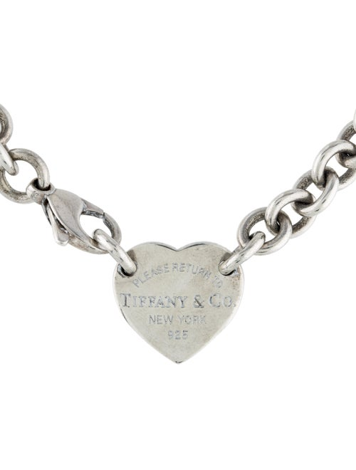 Tiffany & Co. Return to Tiffany Heart Tag Choker S
