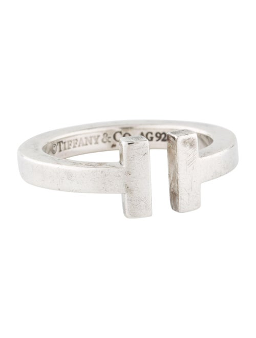 Tiffany & Co. Tiffany T Square Ring Silver