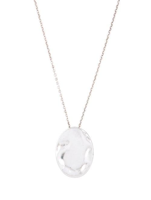 Tiffany & Co. Zodiac Scorpio Pendant Necklace Silv