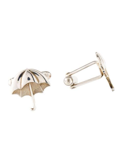 Tiffany & Co. Umbrella Cufflinks Silver