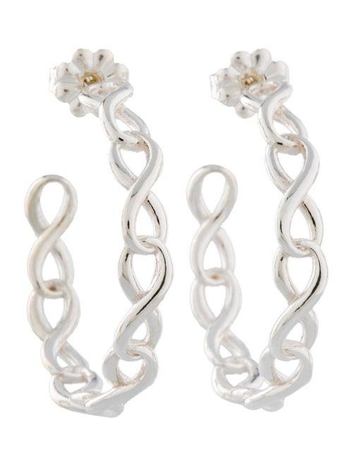 77147f926 Tiffany & Co. Infinity Hoop Earrings - Earrings - TIF21041 | The ...