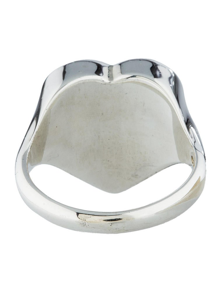 Tiffany Amp Co Heart Signet Ring Rings Tif21486 The