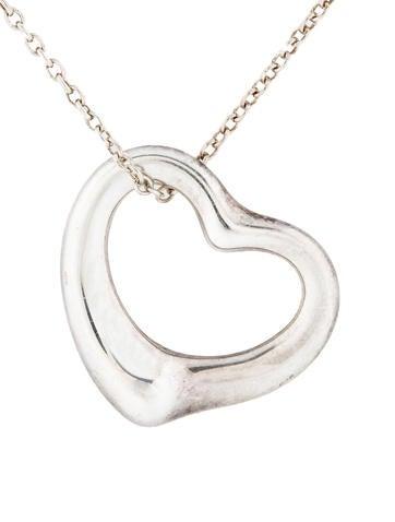 Medium Open Heart Pendant
