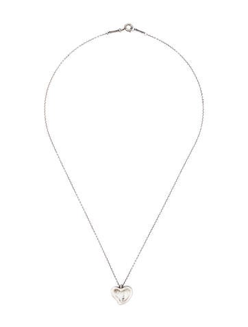 Full Heart Pendant Necklace