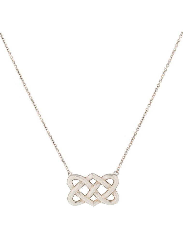 Tiffany co celtic love knot pendant necklaces tif23835 celtic love knot pendant aloadofball Image collections