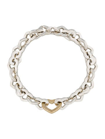 Interlocking Heart Bracelet