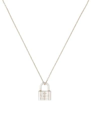 1837 Lock Necklace