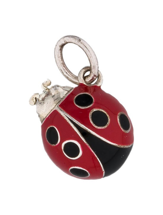 Tiffany Amp Co Enamel Ladybug Charm Charms Tif24731