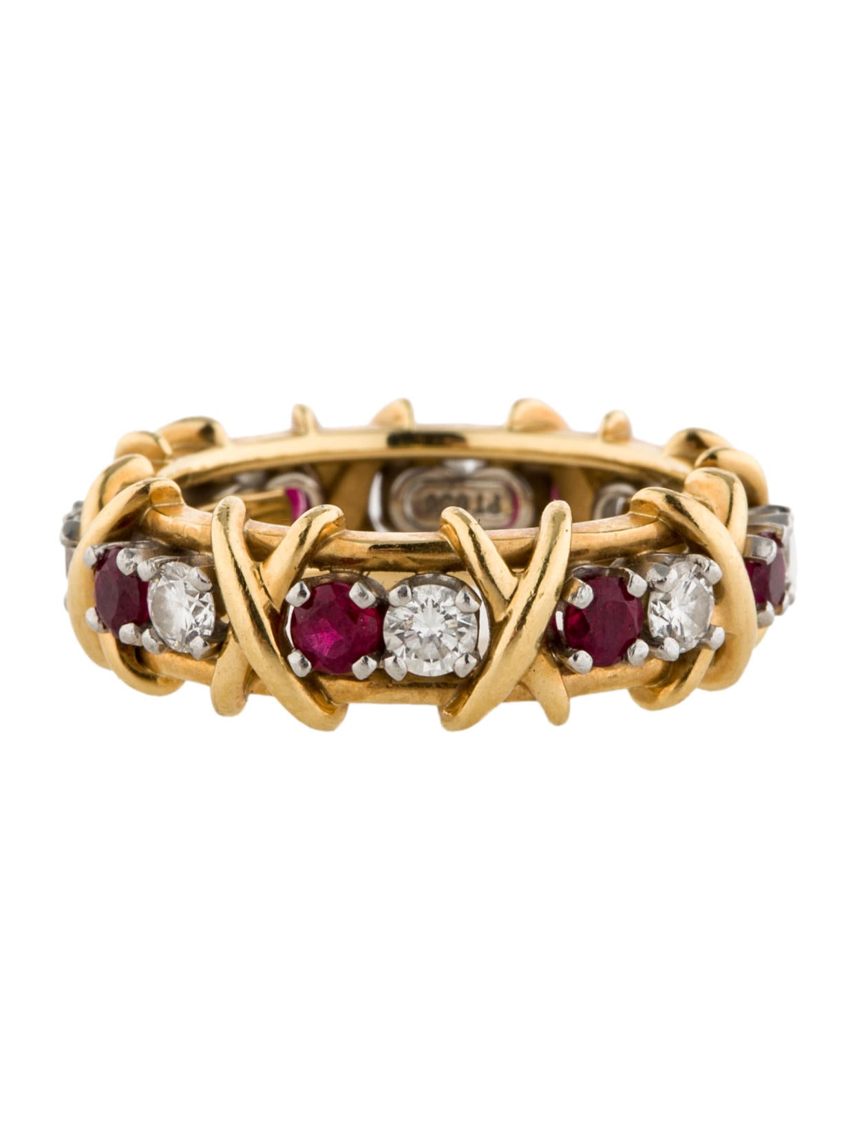 tiffany amp co schlumberger sixteen stone ring rings