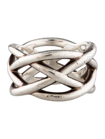 Braided Crisscross Ring