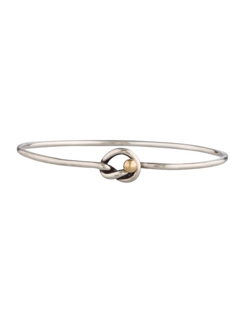 89d69f754 Tiffany & Co. Love Knot Bangle - Bracelets - TIF26929 | The RealReal