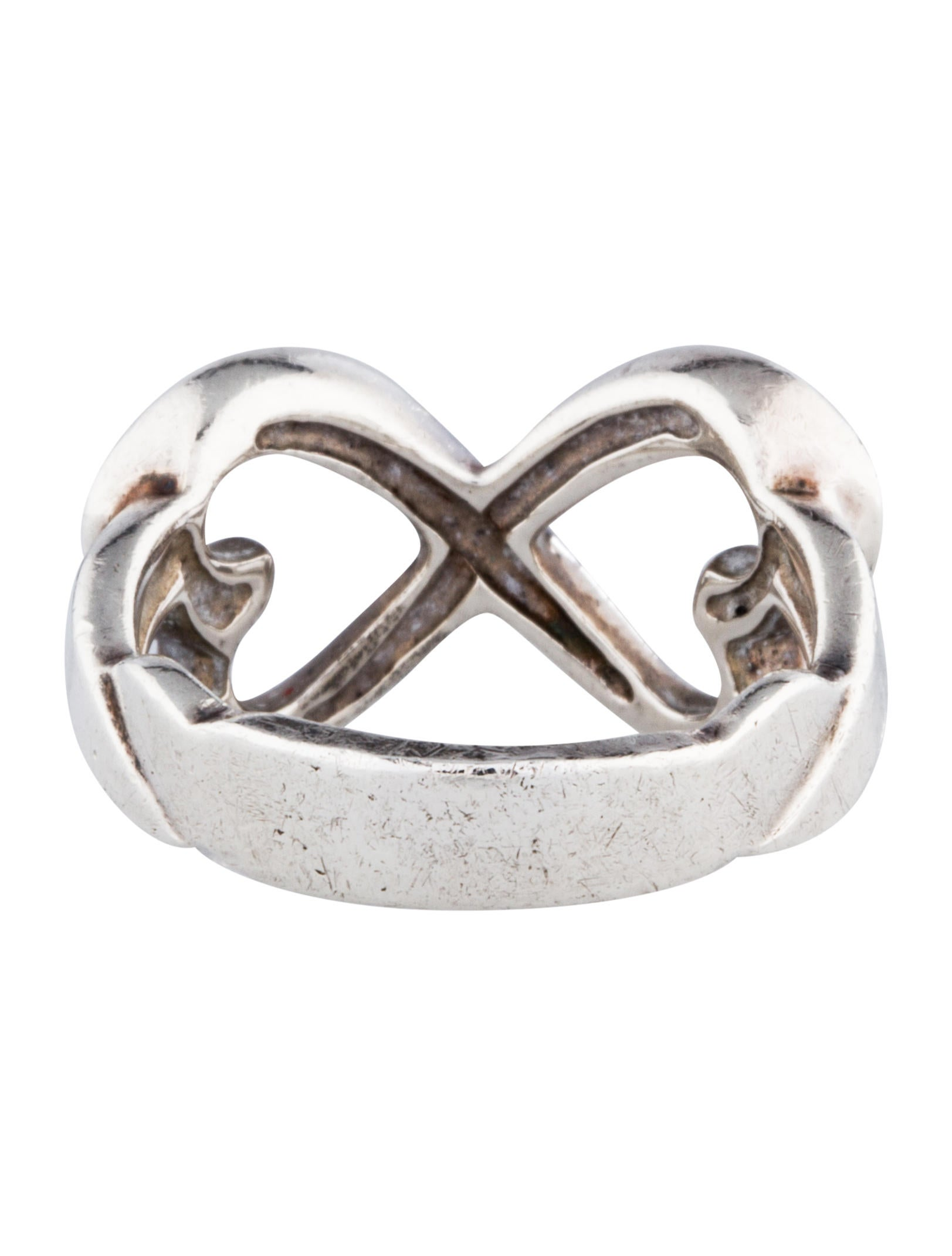 Tiffany co infinity heart ring rings tif27478 the for Infinity ring jewelry store