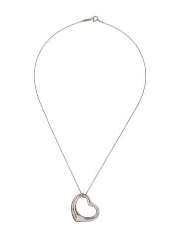 Elsa Peretti Large Open Heart Pendant Necklace