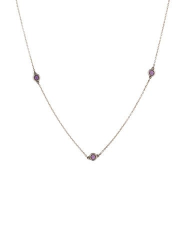 Color by the Yard Sapphire Necklace