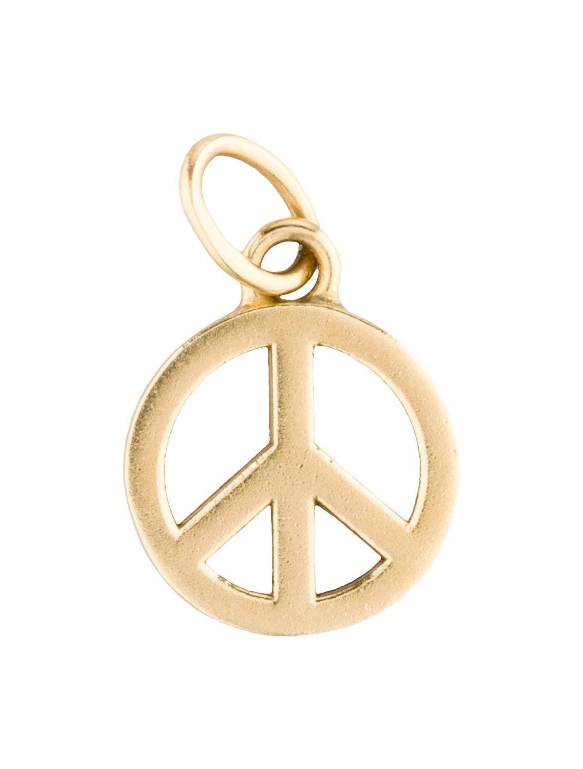 Tiffany co 18k gold peace sign pendant necklaces tif27766 18k gold peace sign pendant mozeypictures Choice Image