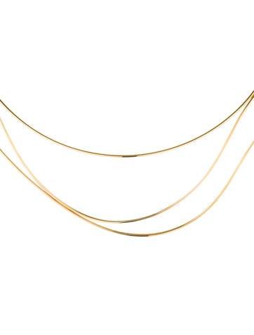 Elsa Peretti Wave Necklace