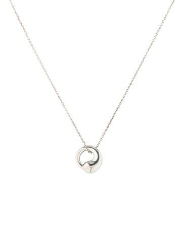 Eternal Circle Pendant Necklace