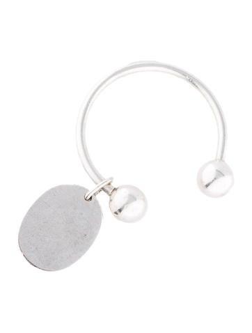 Oval Tag Key Ring