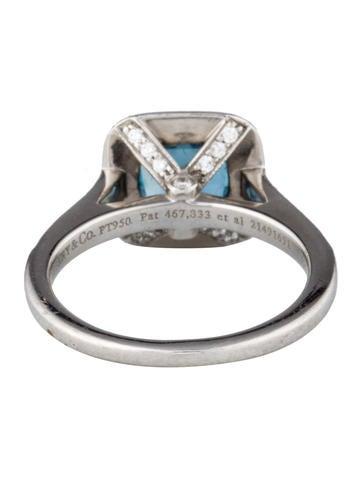 Legacy Aquamarine & Diamond Halo Ring