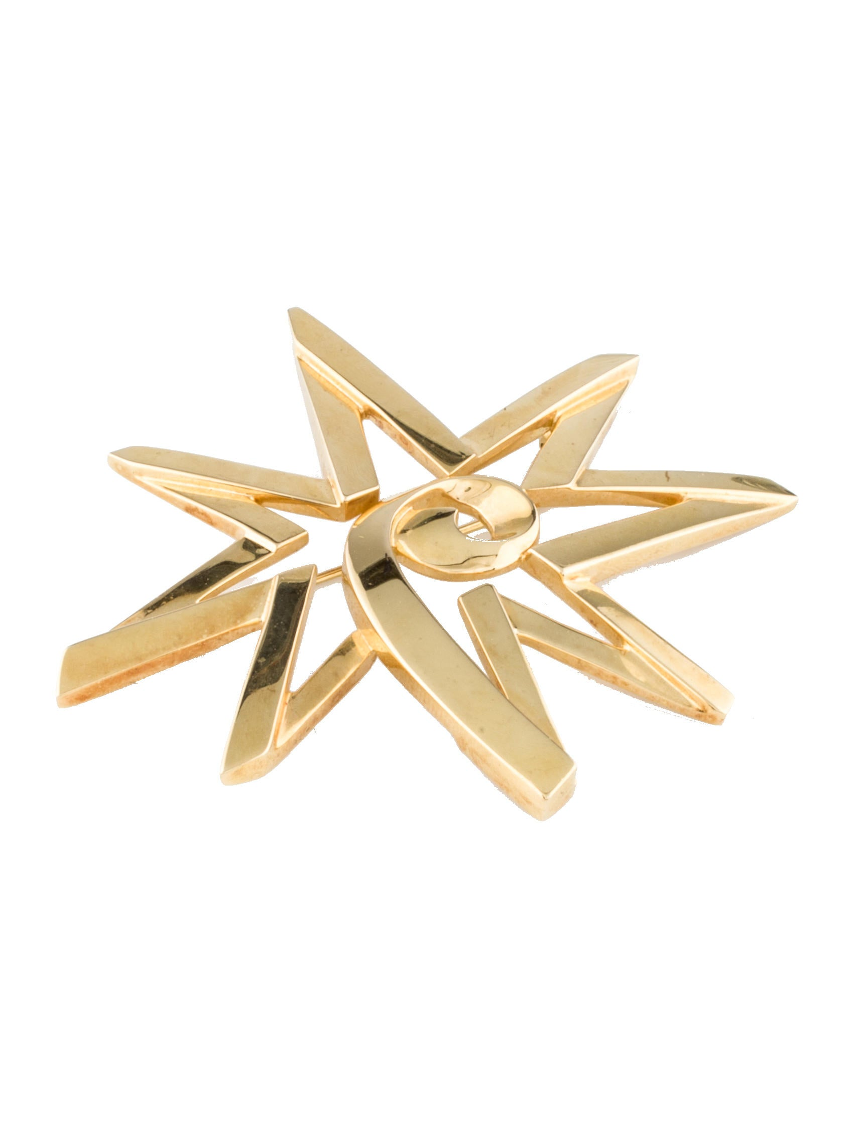 Tiffany co paloma picasso star brooch brooches for Star hallmark on jewelry