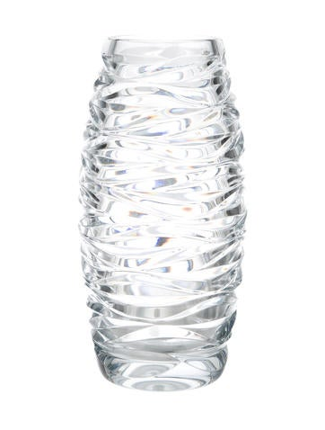 Tiffany Co Wave Crystal Vase Tabletop And Kitchen Tif30450