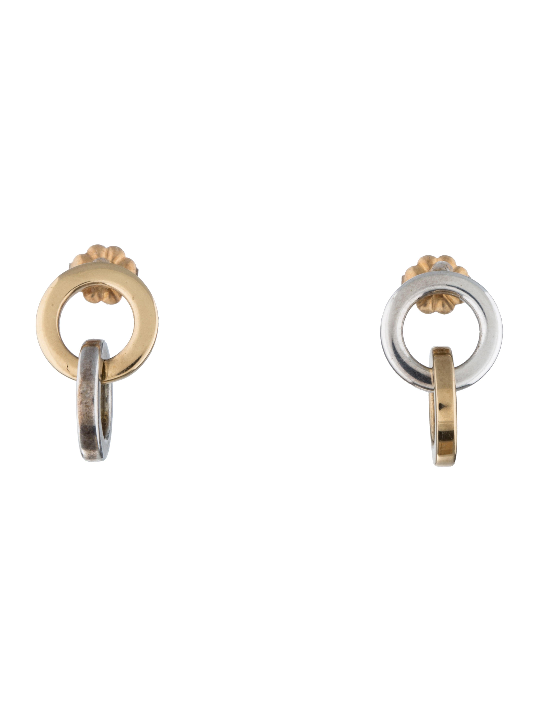 8400ba1ae Tiffany & Co. Interlocking Circles Earrings - Earrings - TIF31436 ...