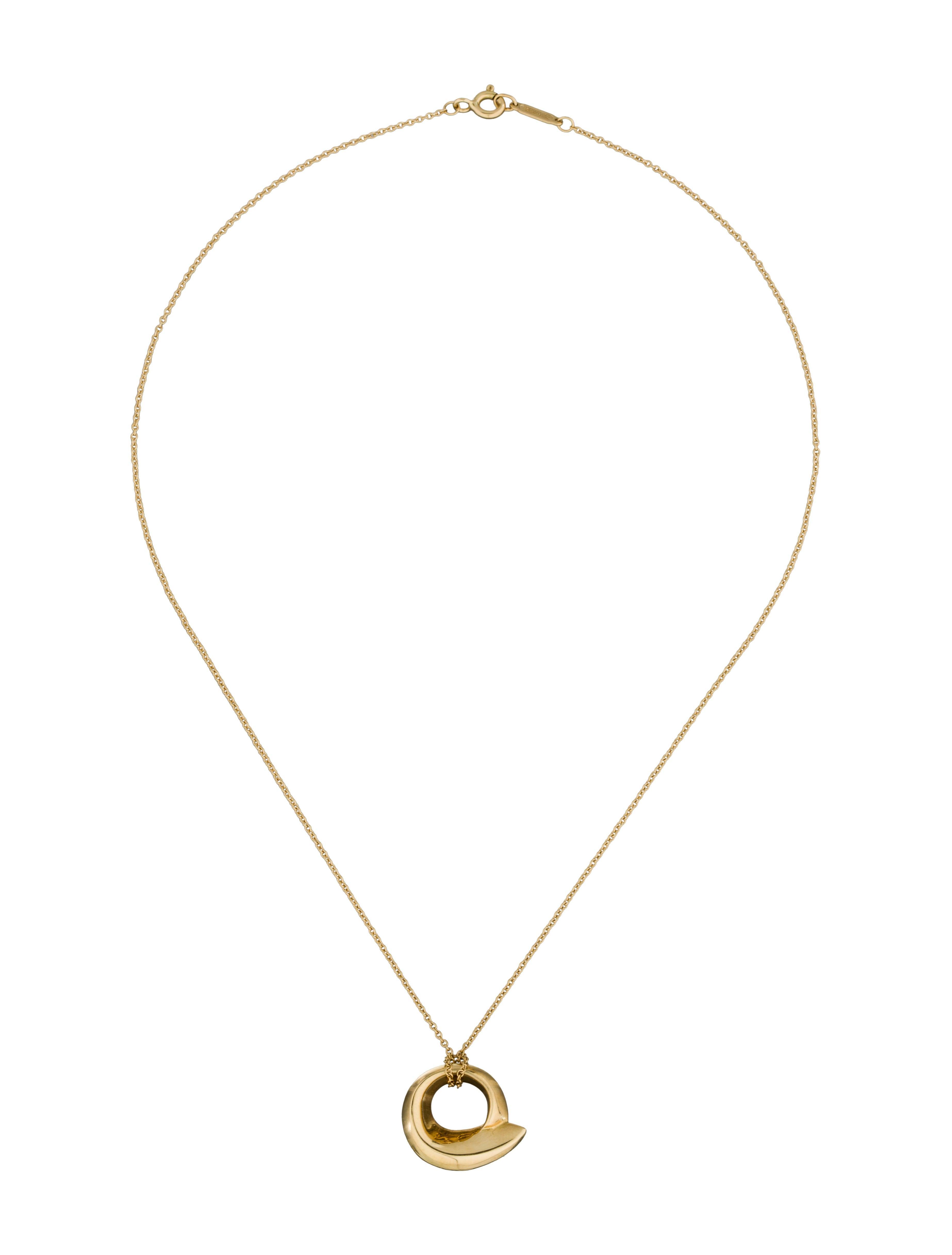 tiffany co fish pendant necklace necklaces tif31471
