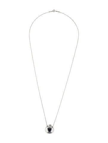 Open Bottle Pendant Necklace