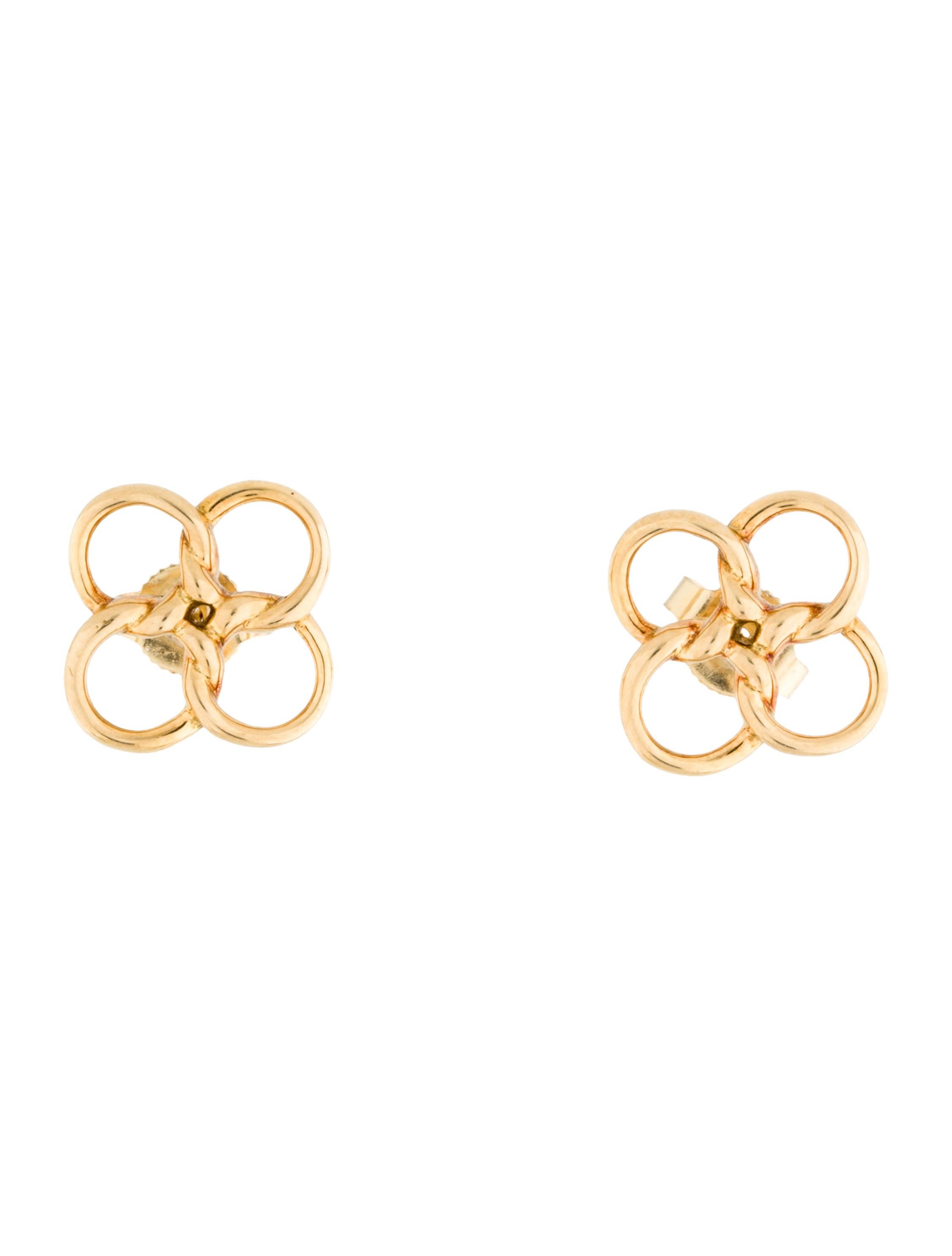 bac3ca89d Tiffany & Co. Quadrifoglio Earrings - Earrings - TIF33450 | The RealReal