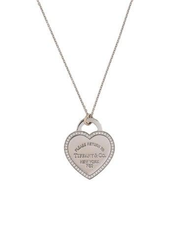 Return to Tiffany Heart Tag Charm Necklace